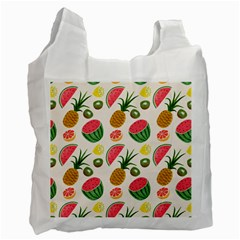 Fruits Pattern Recycle Bag (one Side)
