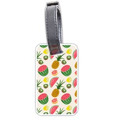 Fruits Pattern Luggage Tags (One Side)