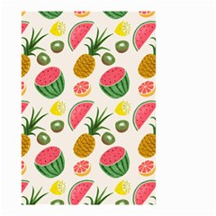 Fruits Pattern Small Garden Flag (two Sides)