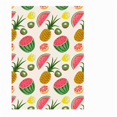 Fruits Pattern Large Garden Flag (two Sides)