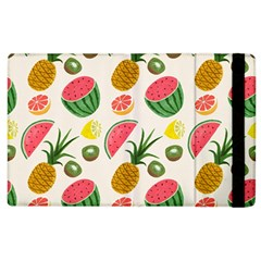Fruits Pattern Apple Ipad 2 Flip Case