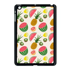 Fruits Pattern Apple Ipad Mini Case (black)