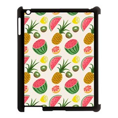 Fruits Pattern Apple Ipad 3/4 Case (black)