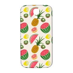 Fruits Pattern Samsung Galaxy S4 I9500/i9505  Hardshell Back Case
