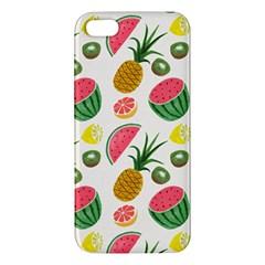 Fruits Pattern Iphone 5s/ Se Premium Hardshell Case