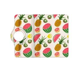 Fruits Pattern Kindle Fire Hd (2013) Flip 360 Case