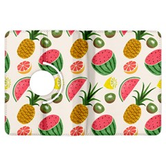 Fruits Pattern Kindle Fire Hdx Flip 360 Case