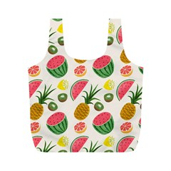 Fruits Pattern Full Print Recycle Bags (m)