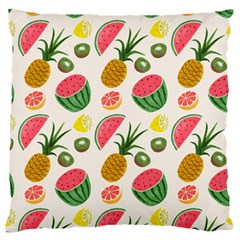 Fruits Pattern Standard Flano Cushion Case (Two Sides)