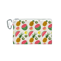 Fruits Pattern Canvas Cosmetic Bag (s)