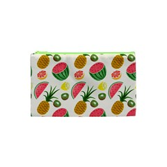 Fruits Pattern Cosmetic Bag (XS)
