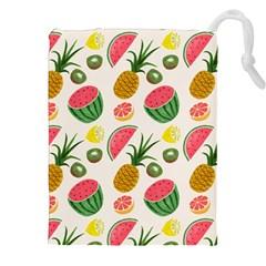 Fruits Pattern Drawstring Pouches (XXL)