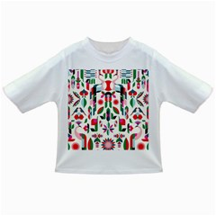 Abstract Peacock Infant/Toddler T-Shirts