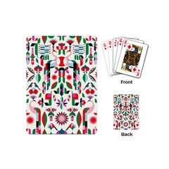 Abstract Peacock Playing Cards (mini)