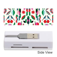 Abstract Peacock Memory Card Reader (Stick)