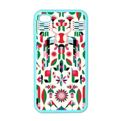 Abstract Peacock Apple Iphone 4 Case (color)