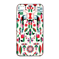 Abstract Peacock Apple Iphone 4/4s Seamless Case (black)