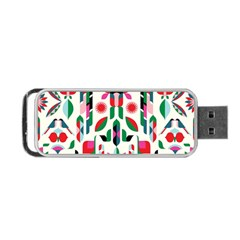 Abstract Peacock Portable Usb Flash (two Sides)
