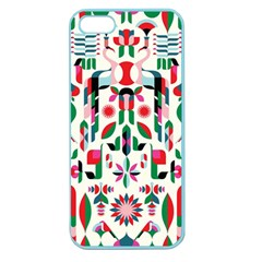 Abstract Peacock Apple Seamless Iphone 5 Case (color)