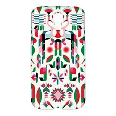 Abstract Peacock Samsung Galaxy S4 I9500/i9505 Hardshell Case