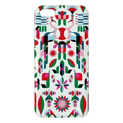 Abstract Peacock Iphone 5s/ Se Premium Hardshell Case