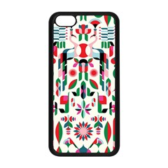 Abstract Peacock Apple Iphone 5c Seamless Case (black)