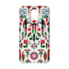 Abstract Peacock Samsung Galaxy S5 Hardshell Case
