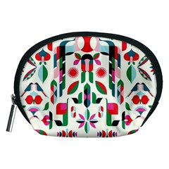 Abstract Peacock Accessory Pouches (Medium)