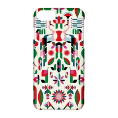Abstract Peacock Apple Iphone 7 Hardshell Case
