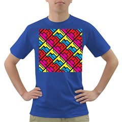 Hert Graffiti Pattern Dark T Shirt