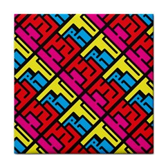 Hert Graffiti Pattern Face Towel