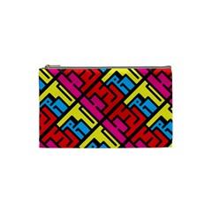 Hert Graffiti Pattern Cosmetic Bag (small)