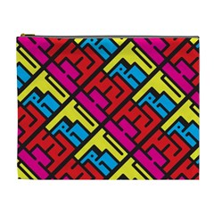 Hert Graffiti Pattern Cosmetic Bag (xl)