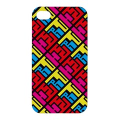Hert Graffiti Pattern Apple Iphone 4/4s Hardshell Case