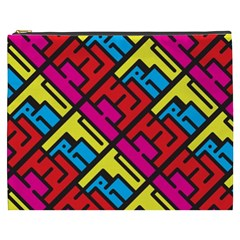 Hert Graffiti Pattern Cosmetic Bag (XXXL)