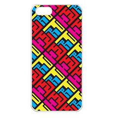 Hert Graffiti Pattern Apple Iphone 5 Seamless Case (white)