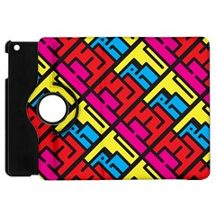 Hert Graffiti Pattern Apple Ipad Mini Flip 360 Case