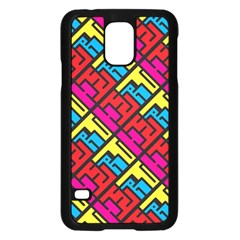 Hert Graffiti Pattern Samsung Galaxy S5 Case (black)