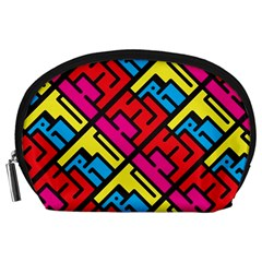 Hert Graffiti Pattern Accessory Pouches (large)