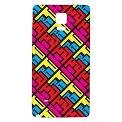 Hert Graffiti Pattern Galaxy Note 4 Back Case