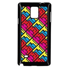 Hert Graffiti Pattern Samsung Galaxy Note 4 Case (black)