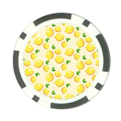 Lemons Pattern Poker Chip Card Guard (10 Pack)