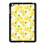 Lemons Pattern Apple iPad Mini Case (Black) Front
