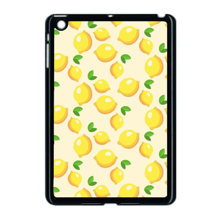 Lemons Pattern Apple iPad Mini Case (Black)
