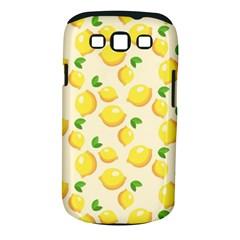 Lemons Pattern Samsung Galaxy S Iii Classic Hardshell Case (pc+silicone)
