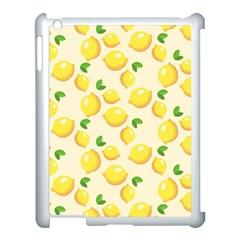 Lemons Pattern Apple Ipad 3/4 Case (white)
