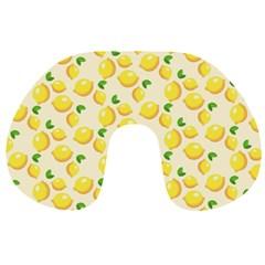 Lemons Pattern Travel Neck Pillows