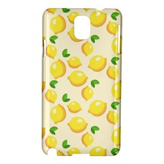 Lemons Pattern Samsung Galaxy Note 3 N9005 Hardshell Case