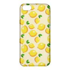 Lemons Pattern Apple Iphone 5c Hardshell Case
