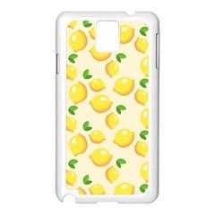 Lemons Pattern Samsung Galaxy Note 3 N9005 Case (white)